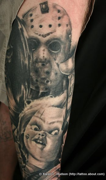 jason voorhees tattoos (41). this photo was not taken by me but i did have