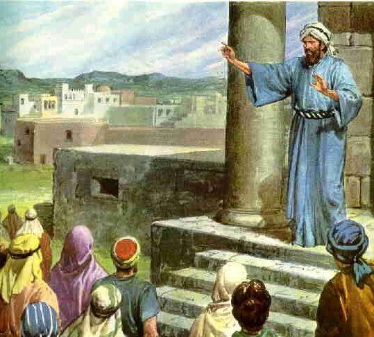El Pueblo Se Junt   Contra Jerem  As En El Templo Del Se  Or