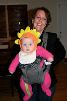 Amy with Charlotte the Flower Baby