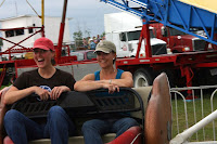 Amy & Dani Ride the Scrambler at the Fair