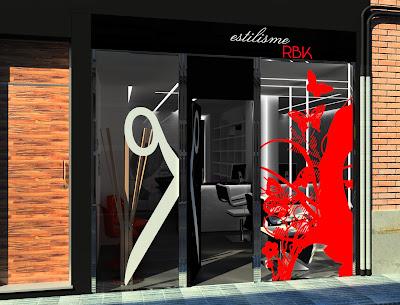 Architecture rendering for Disenos de espejos para peluqueria