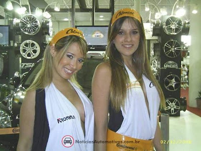 Fotos Gatas no salão do automovel8