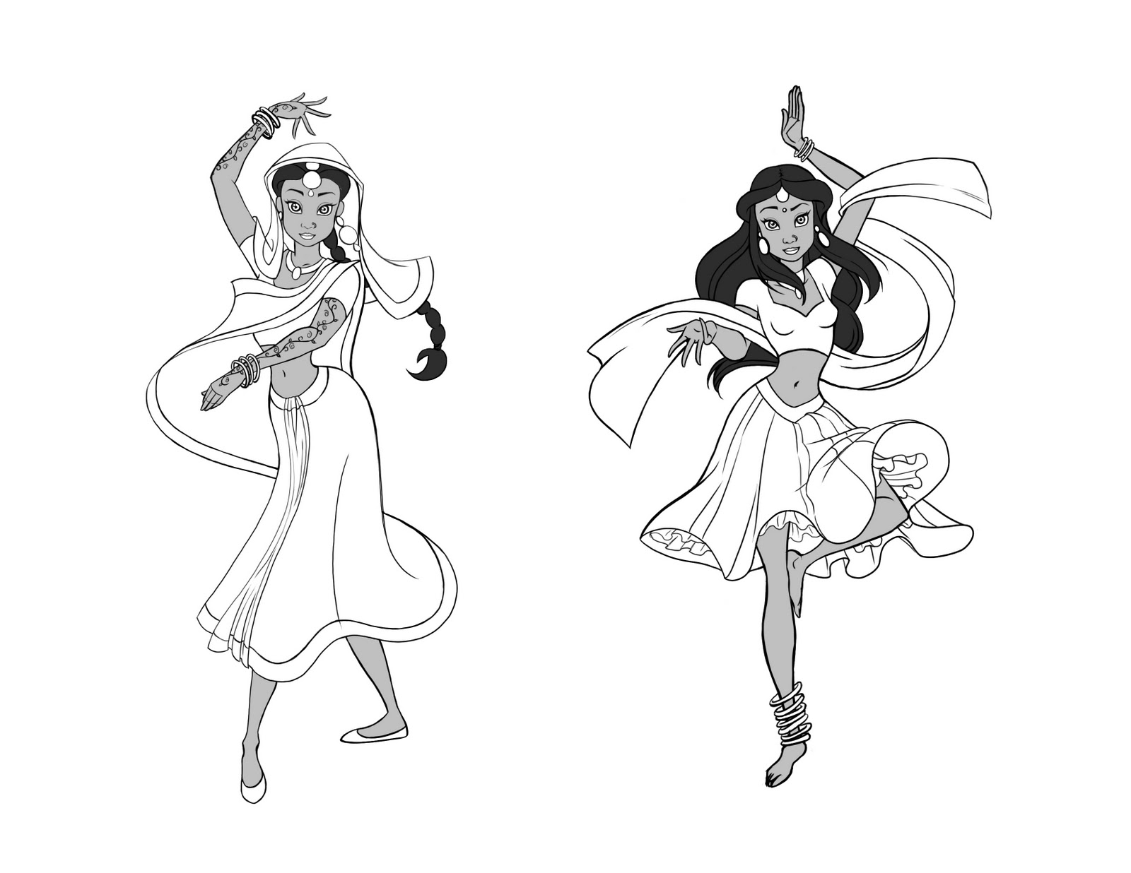 Disney Princess Character Design : Character design class gemma assignments