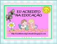 Eu acredito na educao...e voc?