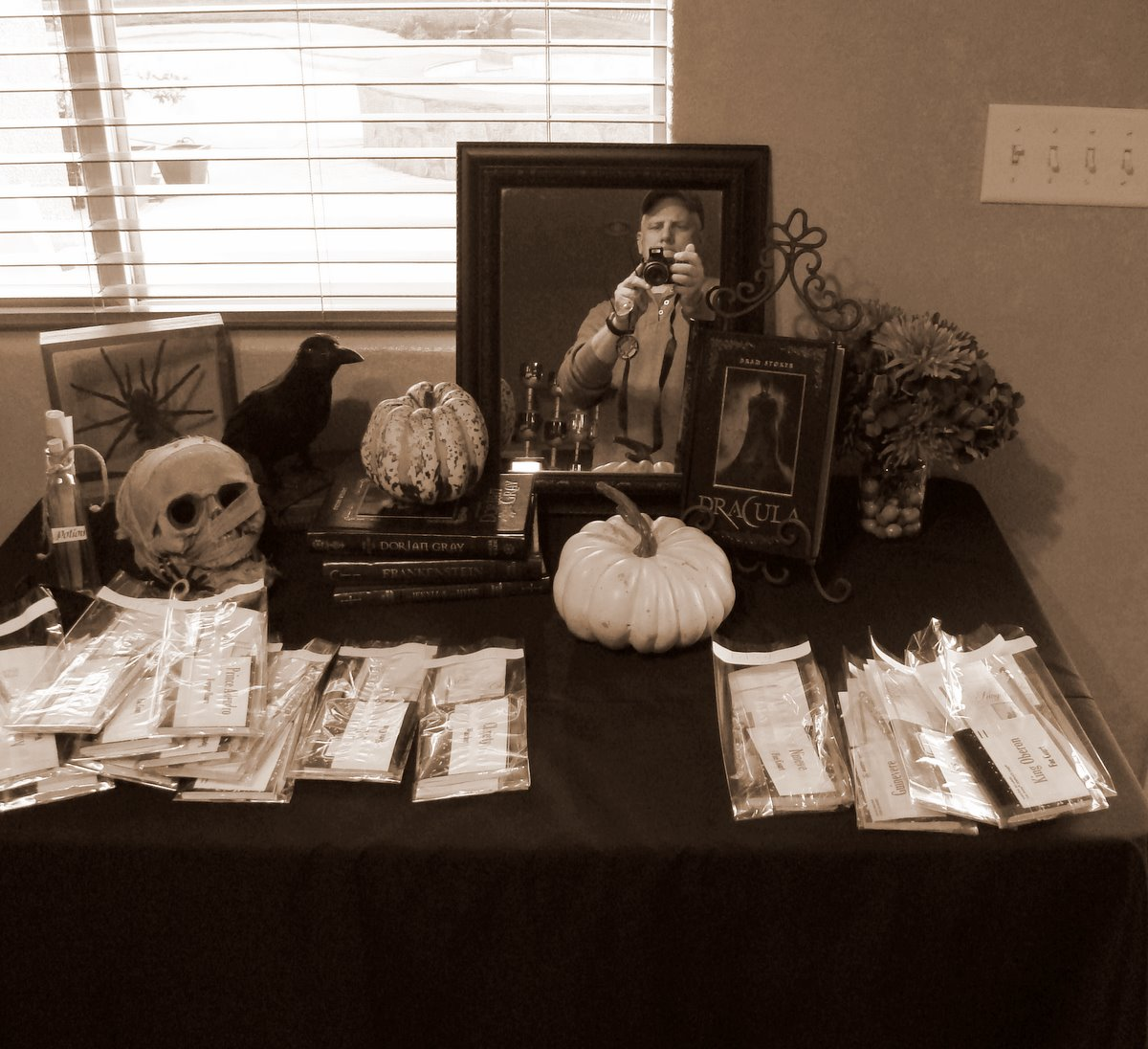 Mystery Dinner Party Ideas Part - 42: Murder Mystery Dinner Party + Halloween Ideas
