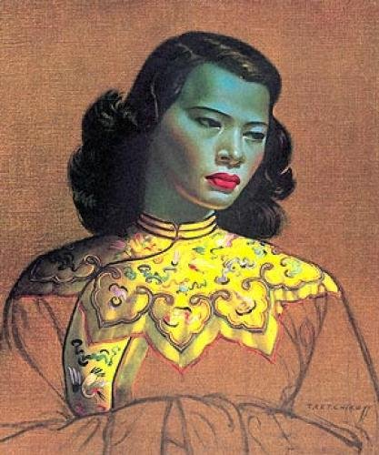 you may remember this painting the famous chinese girl a