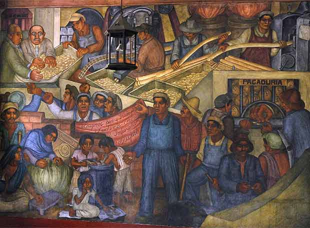 Obras de diego rivera for Diego rivera s mural