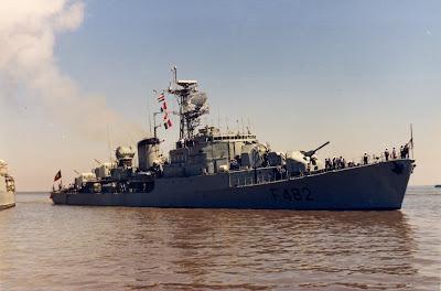 """As Fragatas da Marinha Portuguesa """"João Belo"""""""