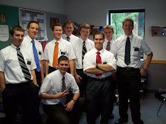 Elder Morton with Elders at MTC