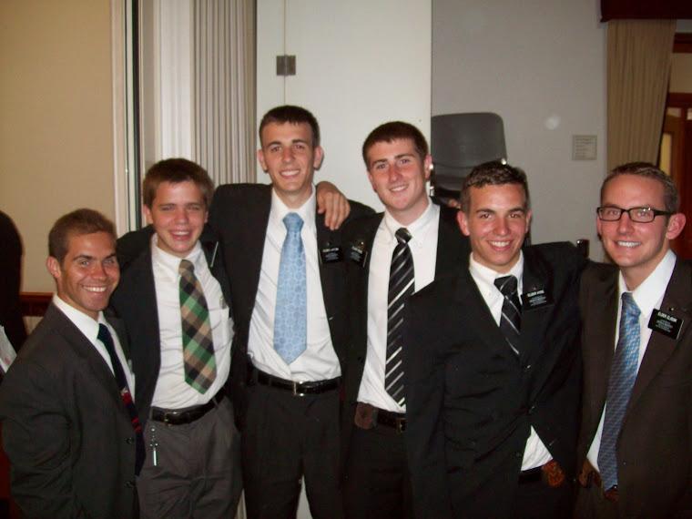 New Elders: Morton, Griffin, Layton, Hyde, & Elison