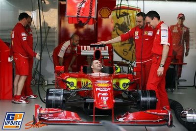 Ferrari mechanics