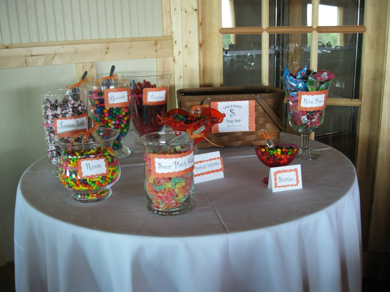 Candy Buffet Weddings On A Budget