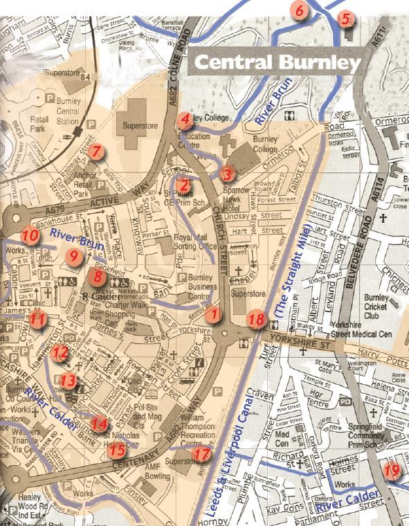 Hiddenplaces Sites Around Burnley
