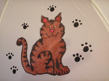 brown striped kitty