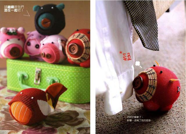 Схемы игрушки из носков своими руками