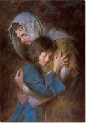 Jesus ampara as criancinhas