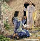 Jesus aparecendo após sua morte