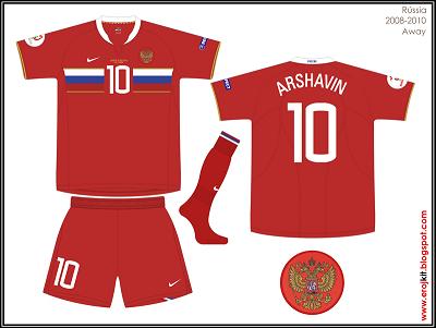 Nuevas Camisetas del Futbol Mundial