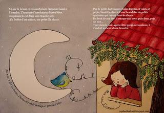 Les petits dessins de raphaelle chante et vole petit oiseau - Dessin oiseau qui chante ...