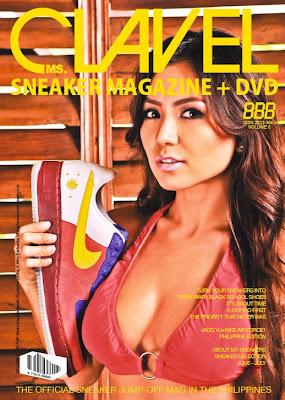 Jacq Yu Scandal Ms. Clavel Magazine July 2009