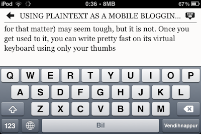 PlainText Text Editor With DropBox Sync for iPad and iPhone