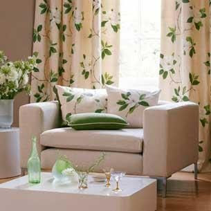 Colores para decorar cortinas para salones en funci n del for Cortinas para salones pequenos