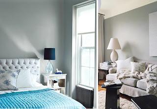 Colores para decorar con que colores combina una pared for Pintura gris azulado pared