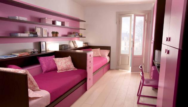 Colores para decorar con que color combina pared violeta - Colores pared dormitorio ...