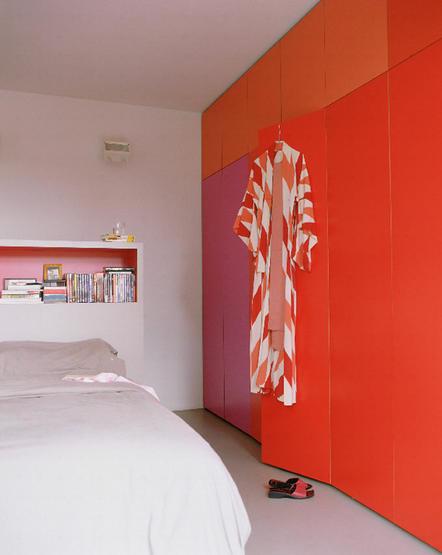 Colores para decorar con que colores combina una pared - Pared naranja combina con ...