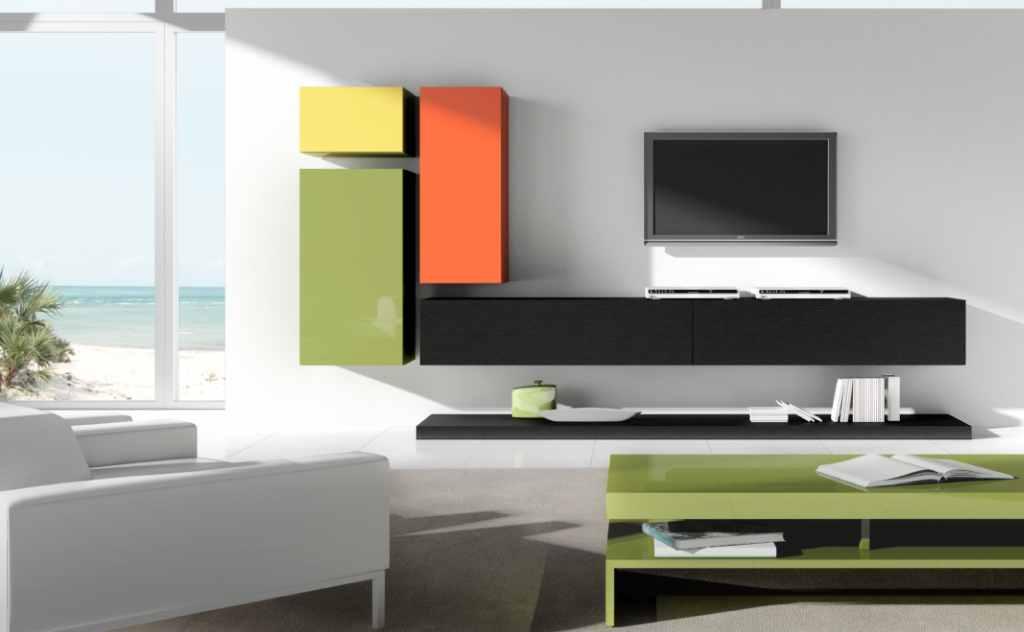 Colores para decorar como combina una pared blanca en - Colores relajantes para salones ...