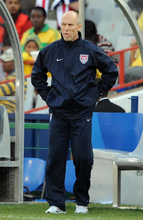 World Cup Football-2010: Bob Bradley, the U.S.A. coach in nostalogia :  bradley bruce tournament world