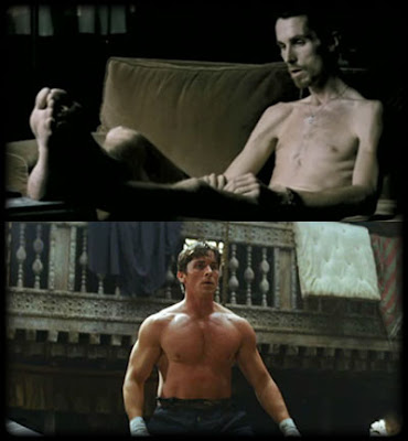In The Machinist, Christian Bale played a man who is ...