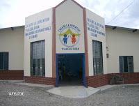 Fachada de la Casa de la Cultura y Casa de la Juventud en Arenal.