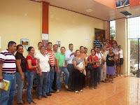 asistentes al taller del CREA