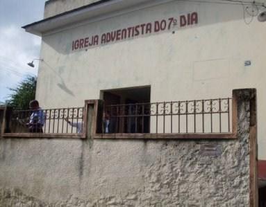 Esta é a Igreja Adventista 7° Dia em Tomazinho- São João de Meriti