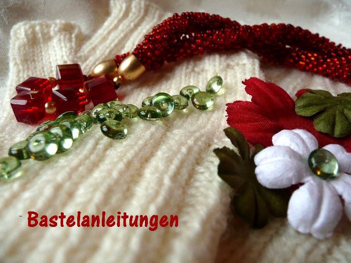 Socken, Perlen und Papier, das Anleitungsblog