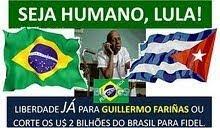 LIBERDADE PARA PRESO POLÍTICO EM CUBA