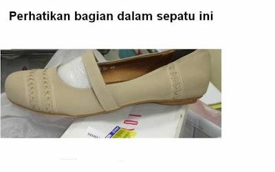 sepatu dari kulit babi haram