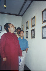 Irfan's Cartoon Exhibition 2002 on Cricket