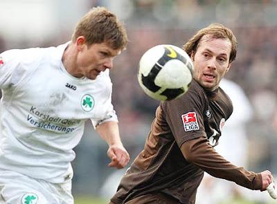 Meio de Campo Trojan irá deixar o St. Pauli.