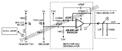 Swith For diagram: Infrared IR Proximity Distance Sensor Circuit on infrared sensor circuit diagram, proximity sensor simple circuit diagram, ir sensor circuit diagram,