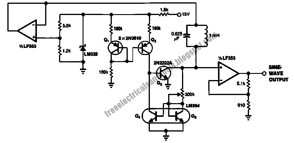 negative resistance oscillator circuits   electronic circuits kits and projects