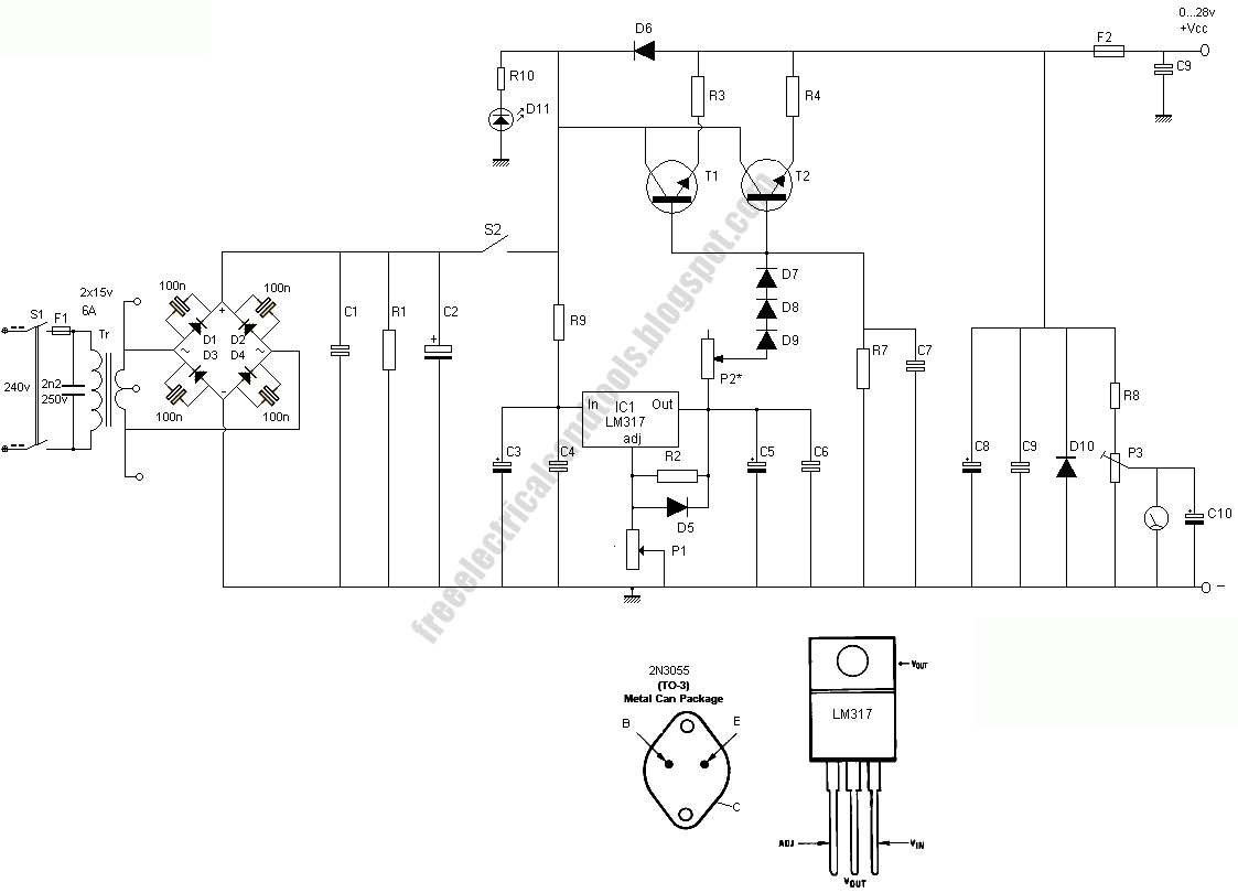 free schematic diagram  11  01  2009  01  2009