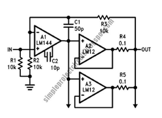simple project electronic circuit  simple parallel