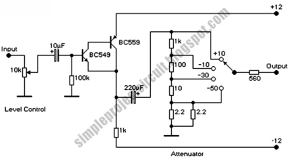 simple project electronic circuit  simple level control
