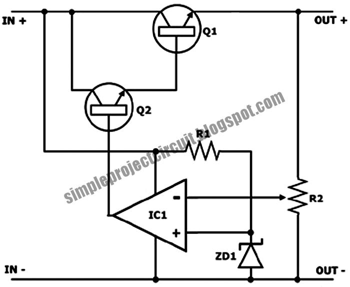 3rd eye  simple negative feedback series voltage
