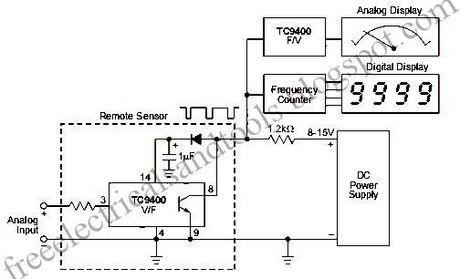 diagram circuit  analog signal transmission circuit
