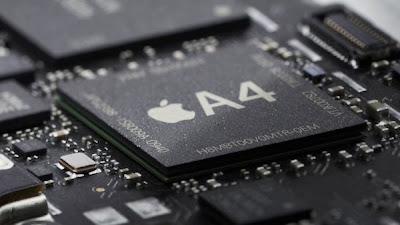 Apple iPad running custom 1GHz Apple A4 chip