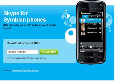 Skype goes on Nokia Symbian phones