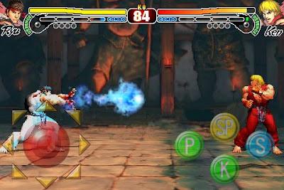 Street Fighter IV iPhone App